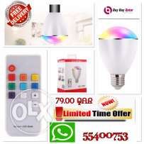 07 Colors Led Bulb