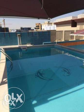Luxury FF 1-BR Apartment in Umm Ghwailina/Pool