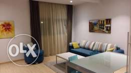 1 bedroom fully furnished flat in al gharrafa