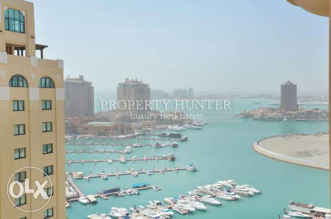 Semi Furnished 2 Bed with Marina Overlooking
