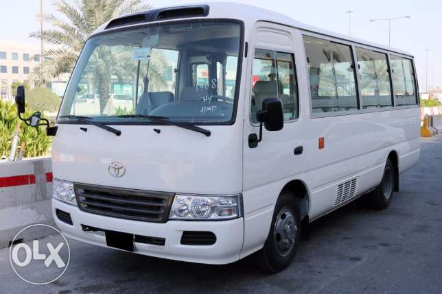 New Toyota Coaster 26 Seater Model 2016