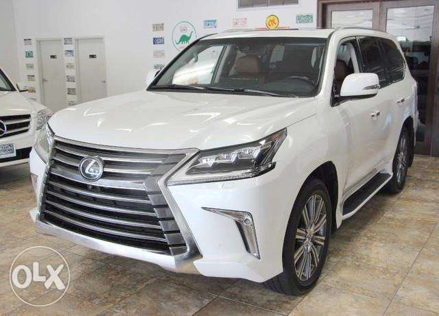 2016 Lexus Lx 570 Full Options (Gulf Spec)