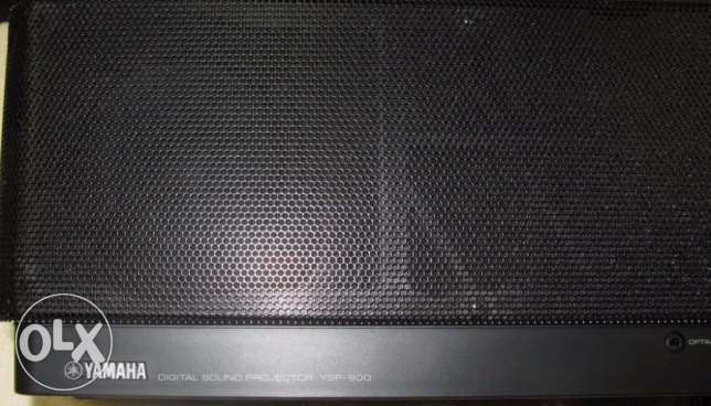 YAMAHA YSP 900 Digital Soundbar مطار الدوحة -  3