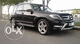 Mercedes GLK full options, panorama model 2014 accident free