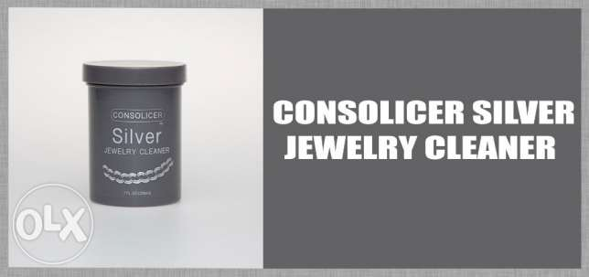consolicer silver jewelry cleaner