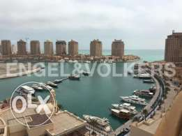 large 3 bedroom furnishd with amazing Marina view