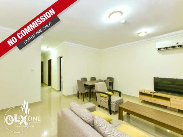 LOWEST PRICE! No Commission, FF 2BR Apartment in Old Airport