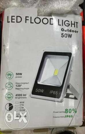 Brand New 50W 4500LM LED WHITE Flood Light