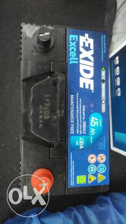 New unused Exide battery for car الوكرة -  3
