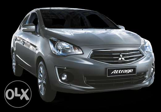 Mitsubishi Attrage for sale at QAR.943/per month