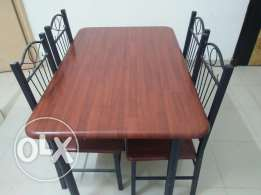 Dining table with chair for sale