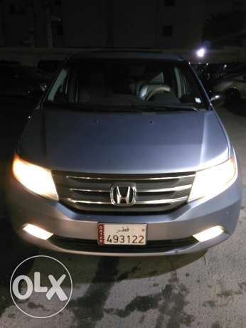 Honda Odyssey EXL 2012 FULL OPTION