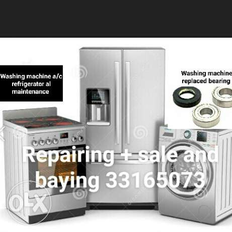 Repairing sale and buying.