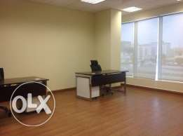 35 Sqm Fully furnished office space for rent at Doha