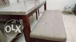Stone top dining table for sale