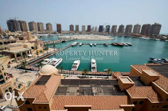 Catchy price 1 Bed Home with marina view
