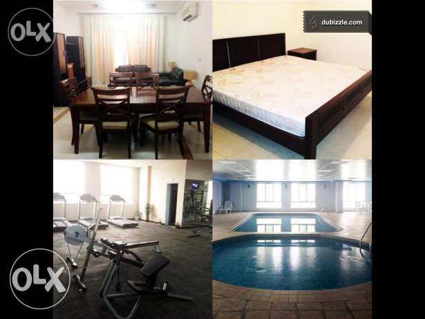 Luxury FF 1/2/3/4 BHK Flats in Bin Mahmoud/ Pool/ Gymanisium