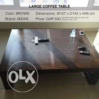 Coffee table (large)