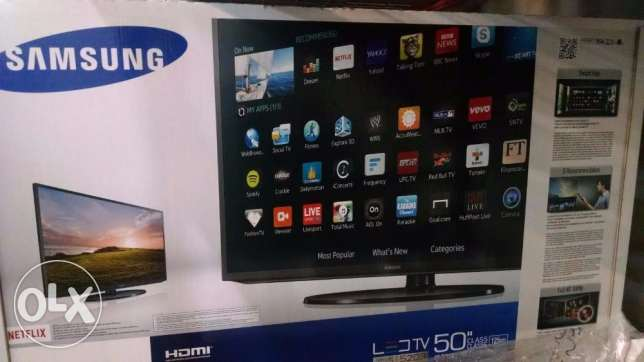 Samsung Led Smart Tv 50 inch عين خالد -  1