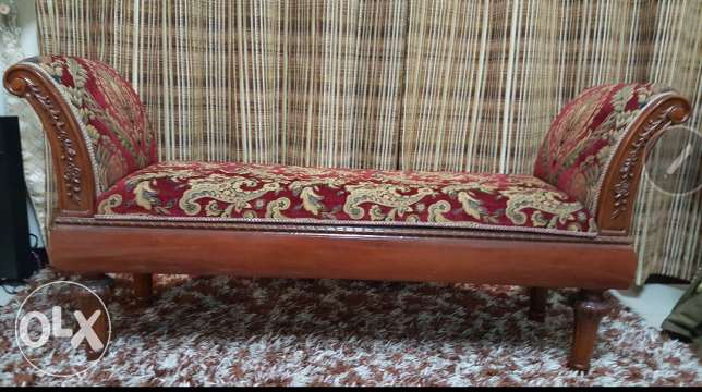 Stylish maroon couch for sale..