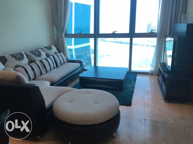 1 bedroom fully furnished at Zigzag Tower. The Pearl
