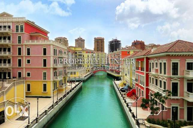 2 BR with canal view in Qanat Quartier
