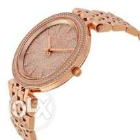 original MK watch for women with faux diamonds