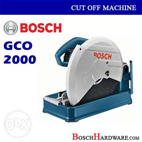 Bosch GCO2000 unboxed piece
