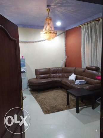 Furnished one bedroom apt In muaither.