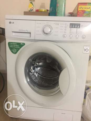 LG wash machine