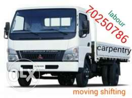 Moving shifting carpentry service