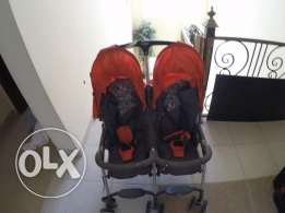 twins stroller light weight