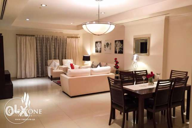 ALL INCLUSIVE, Fully-furnished 1BR Apt. at Porto Arabia