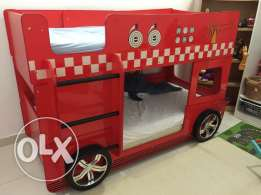 "Double bed Kids ""Firefighters Truck"""