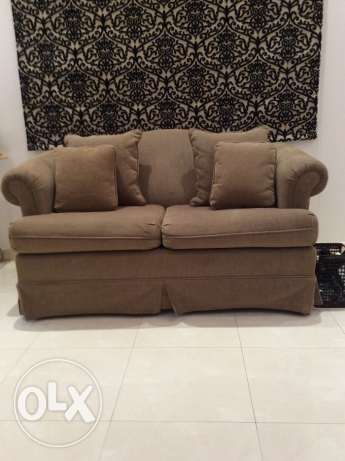 Comfortable Sofa with Matching Cushions