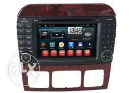 Mercedes Benz S Class W220 In Car Multimedia Player Android System