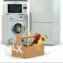 Washing machine refrigerator repair services