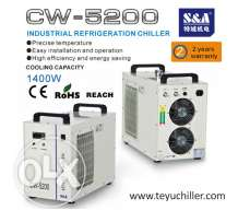S&A CW-5200 laser machine water coolers with 2 years warranty
