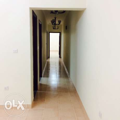 Spacious 2 bhk semi furnished flat in old airport for family