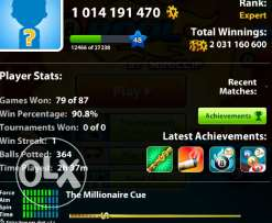 8 ball pool account sale