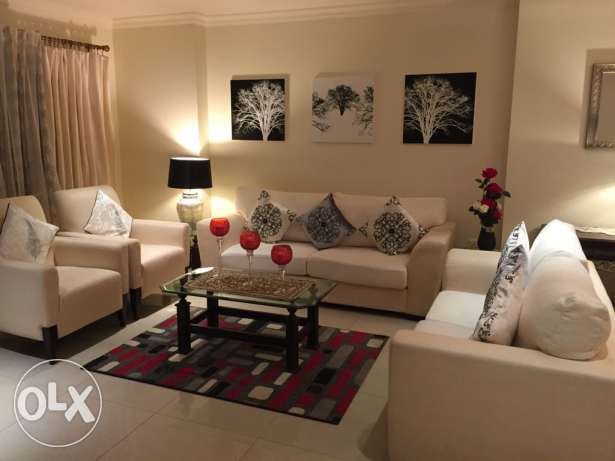 1 bedroom fully furnished in pearl porto Arabia