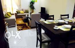 2 B/R fully furnished flat in al sadd