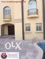 Unfurnished 6-MASTERROOMS Villa in AL Kheesa/Pool*2-FREE MONTHS