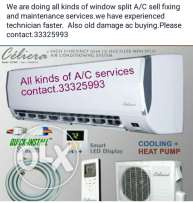 I do all kinds of ac fixing services and maintenance
