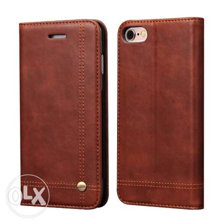 Luxury Leather Wallet Phone Case For iPhone 6,6splus, Flip Cover Pouch