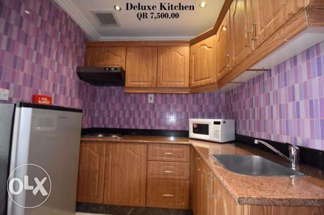 Luxury FF 1-MASTERROOM Flat in Musherib -Daily House Keeping المشيرب -  2