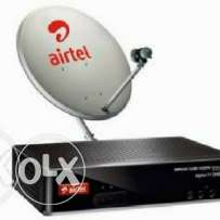 Satellite dish receiver sale services installation available