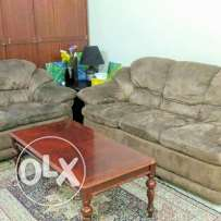 Sofa set with tea table