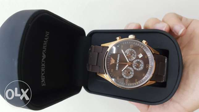Emporio Armani Men Chronograph Watch