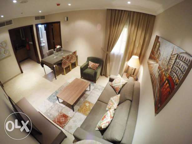 1 bhk flats in doha